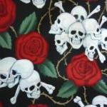 Roses and Skulls Boppy Pill..